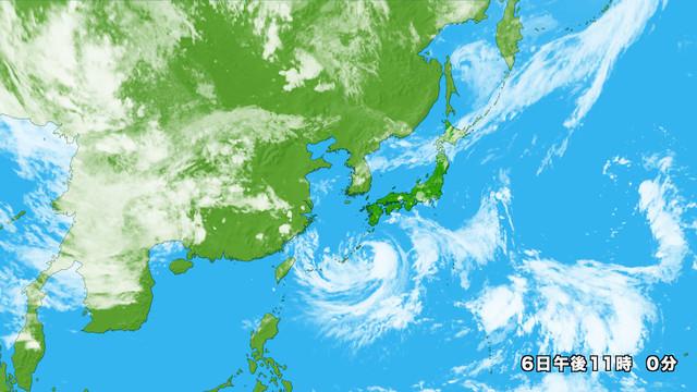 衛星画像 アジア広域
