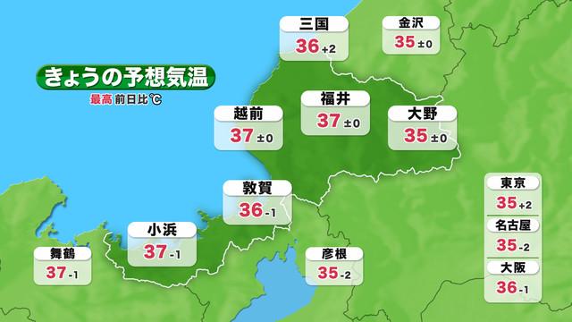 短期予報 気温