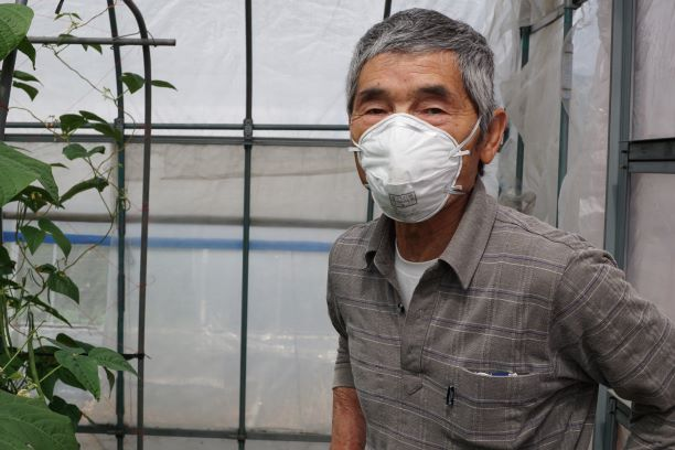 マスクが本格仕様なのは、「薬剤などを散布する時用に使う事があるから」だそう。