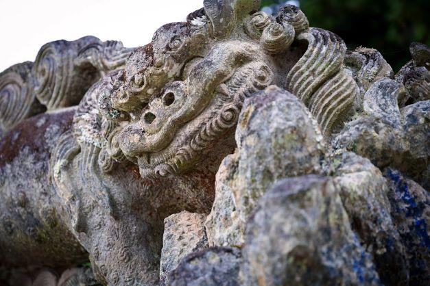 昭和の名石工が彫ったらしいぞ!