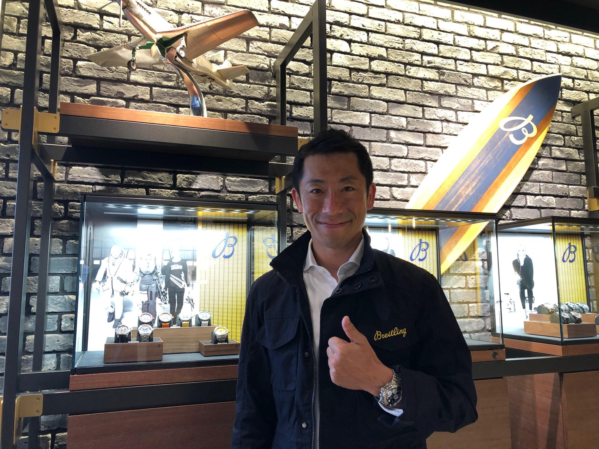 3年ぶりの新生エアレース復活に向け… 福島市在住のエアレースパイロット室屋義秀選手が意気込みを新たに。時計へのこだわりも披露!?