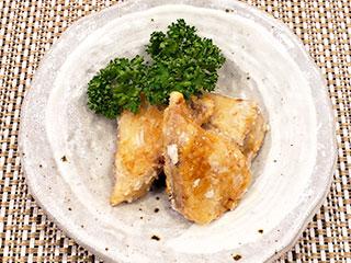 カツオの唐揚げ~梅肉風味~