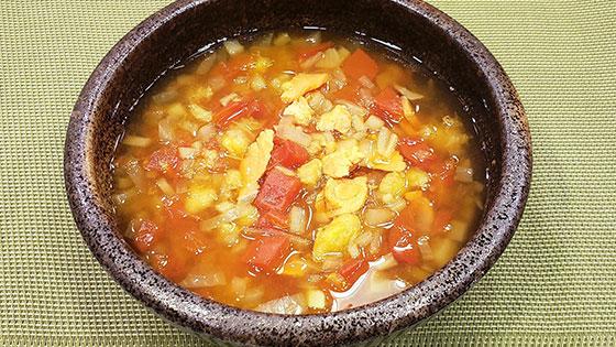 鮭カレースープ