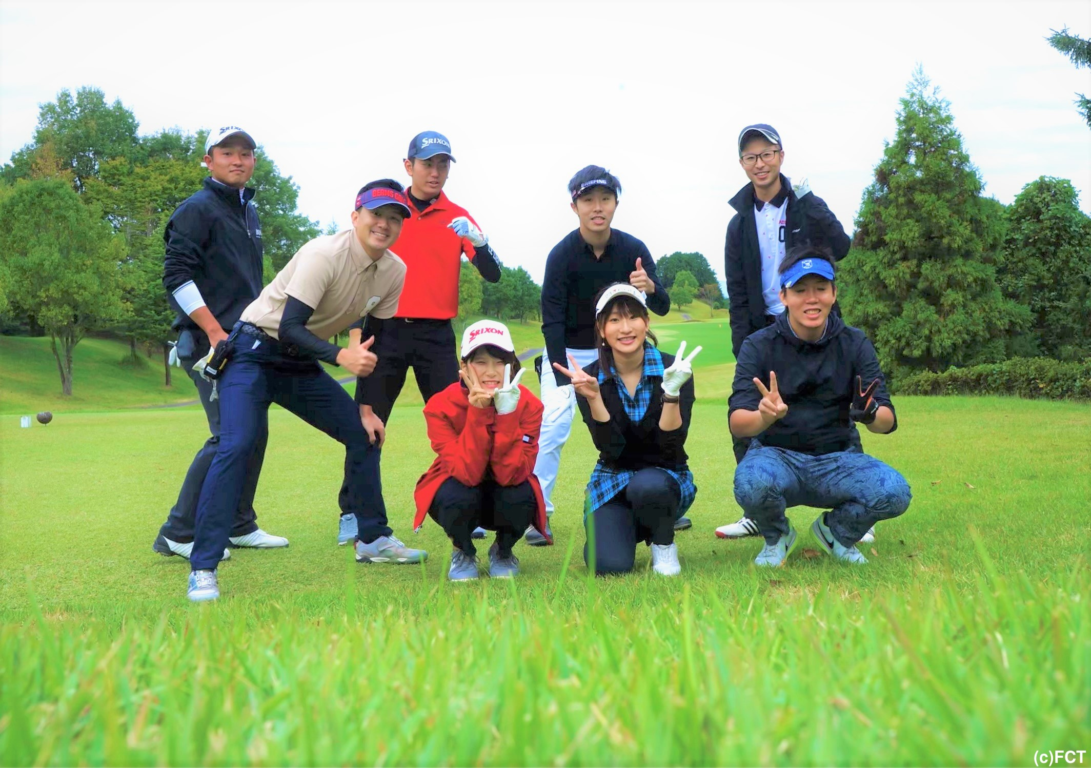 青々とした木々と芝…大自然にも癒されるゴルフ最高です!